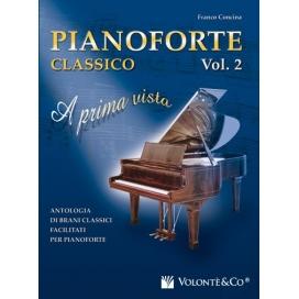CONCINA PIANOFORTE CLASSICO A PRIMA VISTA VOLUME 2 MB417