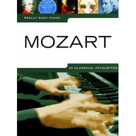 REALLY EASY PIANO MOZART MLC1907