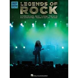 AAVV EASY GUITAR LEGENDS OF ROCK HL00702258