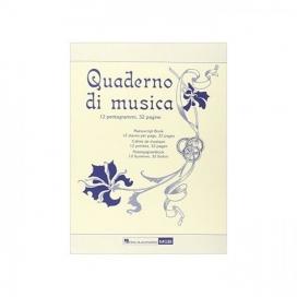 QUADERNO DI MUSICA RICORDI 32 PAGINE HMGB4