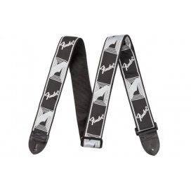 FENDER STRAP BLACK AND GRAY
