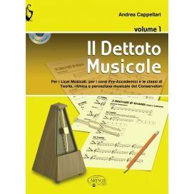 CAPPELLARI IL DETTATO MUSICALE + CD