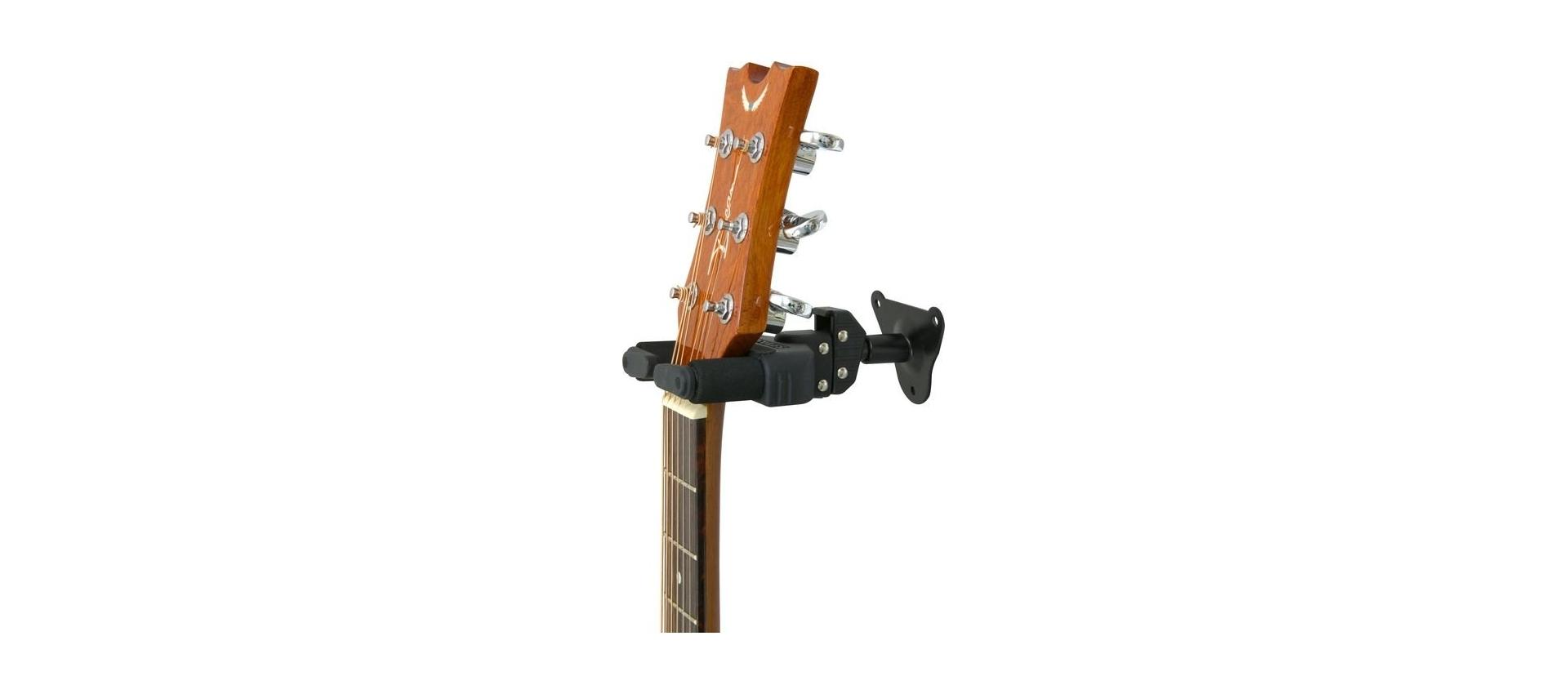 Aste microfoniche della hercules modello gsp 39wb - Porta chitarra da muro ...