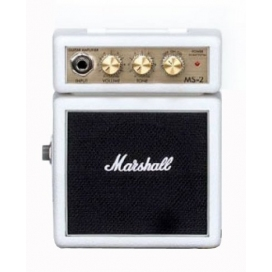 MARSHALL MS-2W MICRO AMPLIFICATORE WHITE