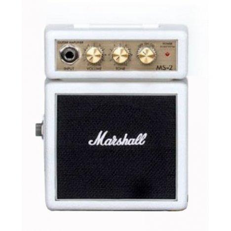 MARSHALL MS-2W MICRO AMPLIFICATORE WHITE