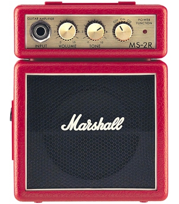 MARSHALL MS-2R MICRO AMPLIFICATORE RED