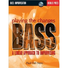 DEL NERO PLAY CHANGES BASS IMPROVISATION + CD