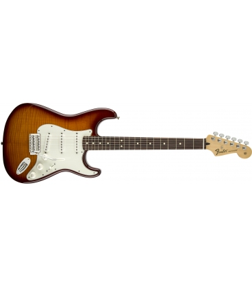 FENDER STRATOCASTER STANDARD PLUS TOP TOBACCO SUNBURST RW
