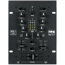 STAGE LINE MPX-1BK DJ MIXER 2 CANALI