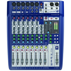 SOUNDCRAFT SIGNATURE 10 MIXER CON EFFETTI USB OUT