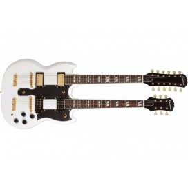 EPIPHONE G-1275 LIMITED EDITION DOUBLE NECK ARTICT WHITE
