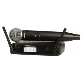 SHURE GLXD24E BETA58 SISTEMA RADIO DIGITALE A MANO