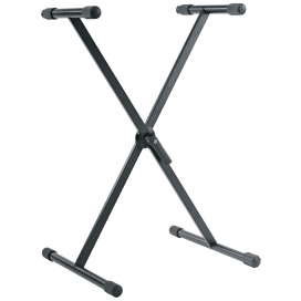 KONIG & MEYER 18933-070-55 KEYBOARD X STAND BLACK