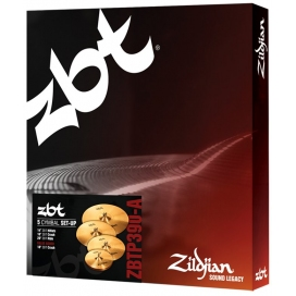 "ZILDJIAN ZBT 5 P390-F SET 5 PIATTI 18""CRASH"