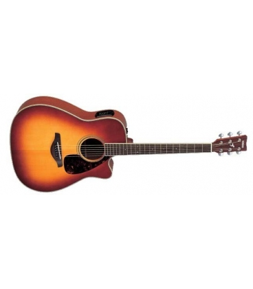 YAMAHA FGX720SCA BROWN SUNBURST