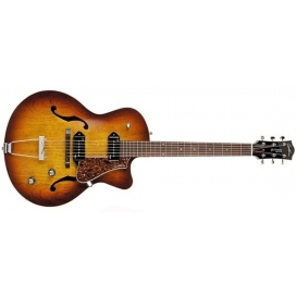 GODIN 5TH AVENUE CUTAWAY KINGPIN II HB COGNAC BURST