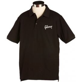 GIBSON LOGO POLO SMALL BLACK