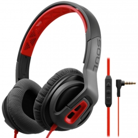 SOUL TRANSFORM FIRE RED STEREO HEADPHONES