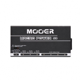 MOOER MACRO POWER S8 POWER SUPPLY UNIT UP TO 8 PEDALS