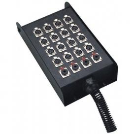 NINGBO ES415-16 STAGE BOX 12IN - 4OUT XLR 25 METRI