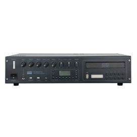 DAP AUDIO PA 805CDTU AMPLIFICATORE 100V/80W CON CD E TUNER