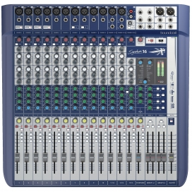 SOUNDCRAFT SIGNATURE 16 MIXER CON EFFETTI USB OUT