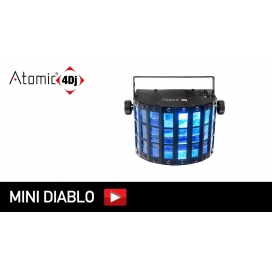 ATOMIC4DJ MINI DIABLO LUCE LED 4X3W