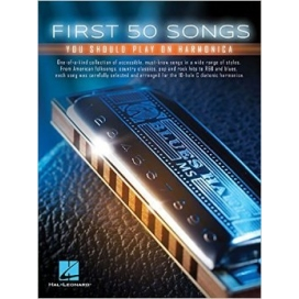 AAVV FIRST 50 SONGS YOU SHOULD PLAY ON HARMONICA - HL00152493