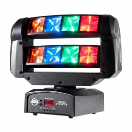 AMERICAN DJ CRAZY POCKET 8 RGBA LED 8 ZONE
