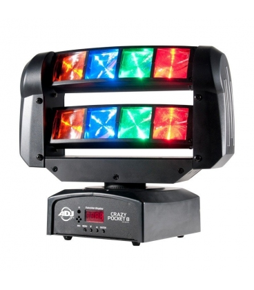 AMERICAN DJ CRAZY POCKET 8 RGBA LED 8 ZONE