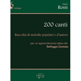 ROSSI ANGELO 200 CANTI - SOLFEGGI CANTATI