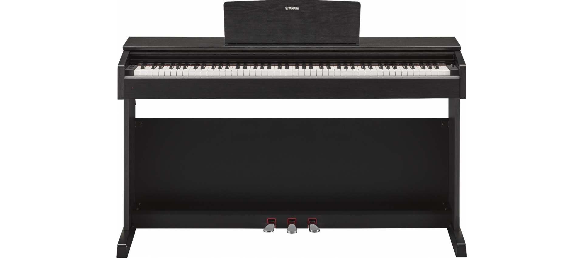yamaha ydp 143b digital piano black arius series luckymusic. Black Bedroom Furniture Sets. Home Design Ideas