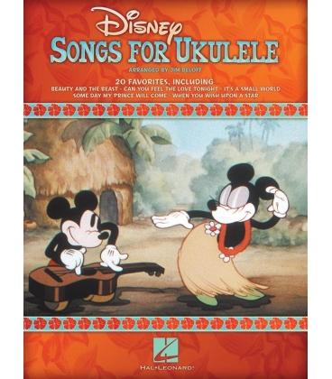 DISNEY SONGS FOR UKULELE HL00701708