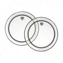 REMO P3-1322-C2 POWERSTROKE 3 CLEAR FOR BASS DRUM