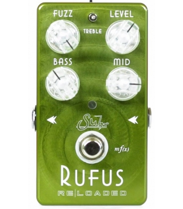 SUHR RUFUS RELOADED OVERDRIVE PEDAL