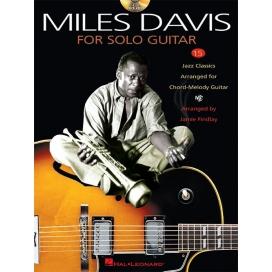 MILES DAVIS SOLO GUITAR + CD MLC1163