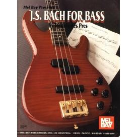 DES PRES BACH FOR BASS + CD ML35432