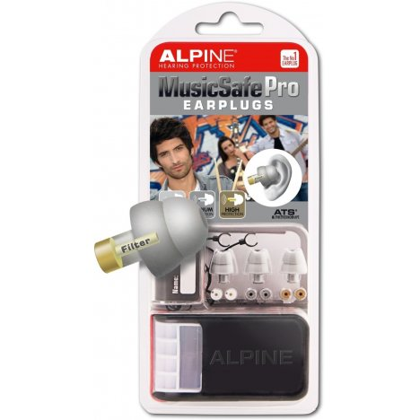 ALPINE MUSIC SAFE PRO MK3 SILVER EDITION EARPLUG PROTECTION SYSTEM