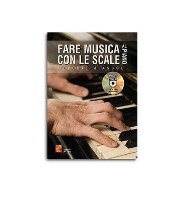 DATTINO FARE MUSICA CON LE SCALE AL PIANO + DVD MUSMI0356