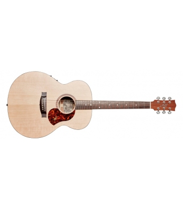 MATON SR70J NATURAL ALL SOLID ROAD SERIES ACOUSTIC ELECTRIC JUMBO