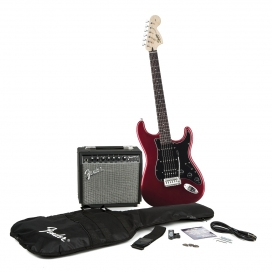 SQUIER AFFINITY STRATOCASTER PACK HSS CHAMPION 20 CAR
