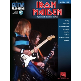 AAVV GUITAR PLAY ALONG V 130: IRON MAIDEN + AUDIO ACCESS HL00701742