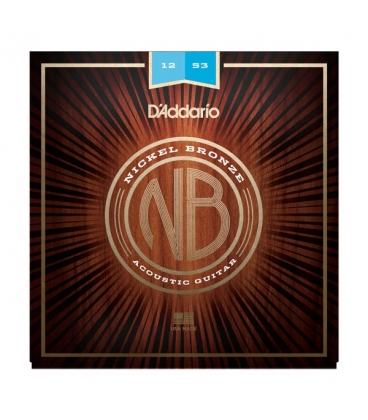 D'ADDARIO NB1253 NICKEL BRONZE LIGHT