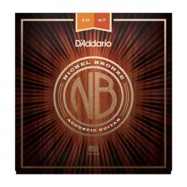 D'ADDARIO NB1047 NICKEL BRONZE EXTRA LIGHT