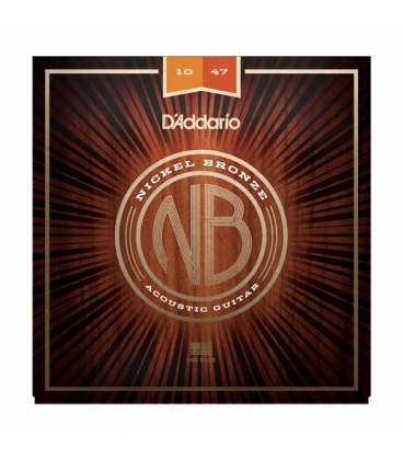 D'ADDARIO NB1047 NICKEL BRONZE EXTRA LIGHT