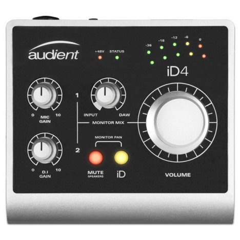 AUDIENT ID4 INTERFACCIA AUDIO USB 2 IN 2 OUT
