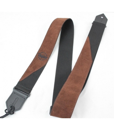 TAYLOR STRAP SUEDE POLY BROWN TRACOLLA
