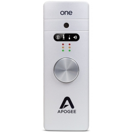 APOGEE ONE USB AUDIO INTERFACE/MICROPHONE FOR MAC AND PC