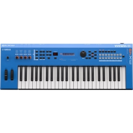 YAMAHA MX49IIBU MUSIC SYNTHESIZER BLU