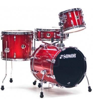 SONOR SSE 12 SAFARI RED SPARKLE